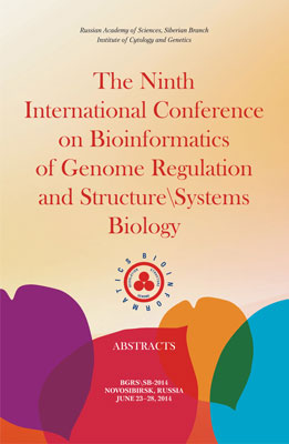 The Ninth International Conference on Bioinformatics of Genome Regulation and Structure\Systems Biology. BGRS\SB-2014 Novosibirsk, Russia June 23-28, 2014